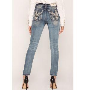 NWT Miss Me Flight Of Fancy Easy Skinny Jeans